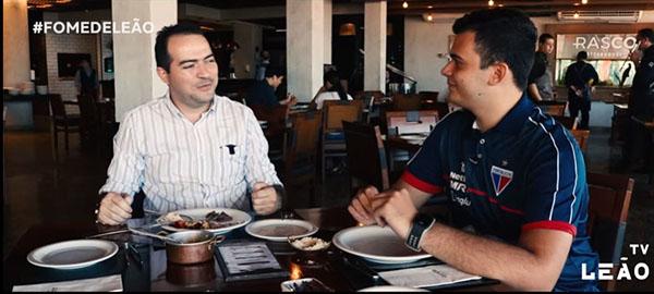 Marcelo Paz elogiou trabalho de Ceni no Fortaleza. Foto: Reprodução/ Youtube