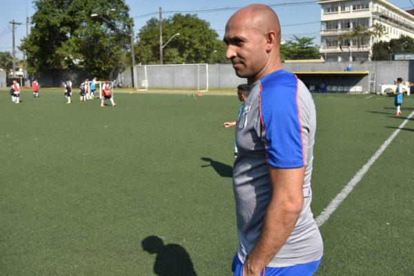 Basílio passa a integrar o DACTA do Peixe. Foto: Ivan Storti/Santos FC