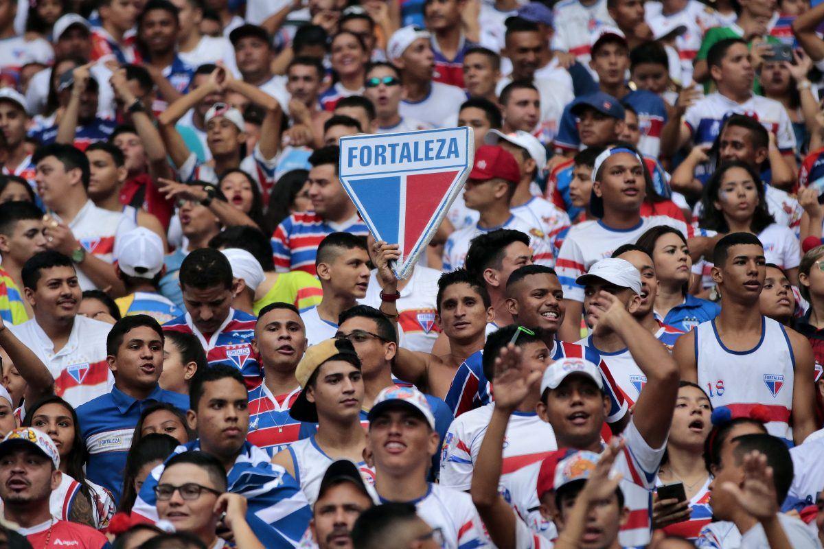 Equipe cearense subiu duas posições na tabela. Foto: site oficial do Fortaleza