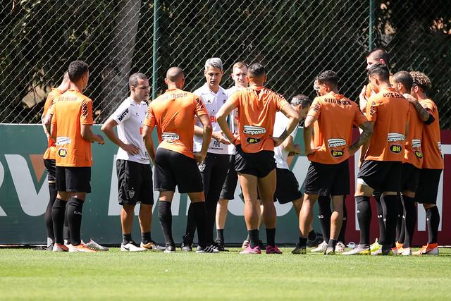 Galo pode subir ao segundo lugar com tropeços do Mengo e Verdão. Foto: Agência Galo/Clube Atlético Mineiro