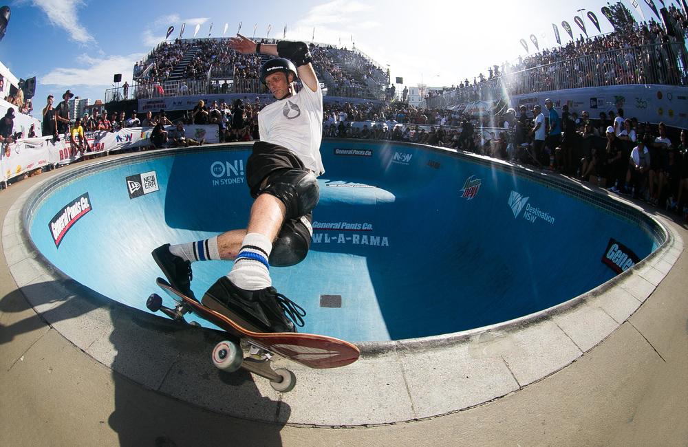 Tony Hawk conhecerá a nova pista do clube. Foto: Foto:TonyHawk.com/site oficial do skatista