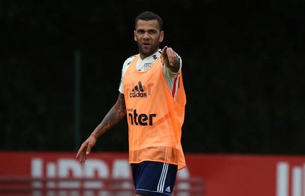 Jogador tem condição de jogo para domingo, contra o Ceará. Foto: Rubens Chiri / saopaulofc.net