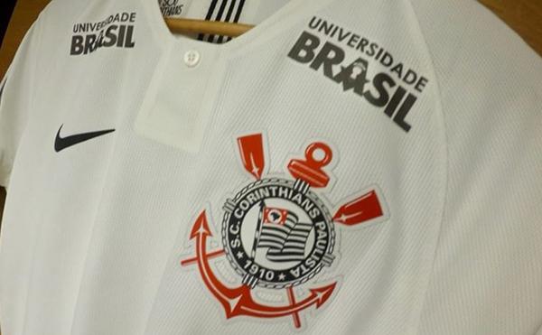 Universidade Brasil é uma das empresas parceiras do Timão. Foto: Divulgação