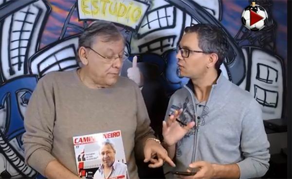 Milton e Frank Fortes debateram as semifinais da Copa do Brasil. Foto: Reprodução