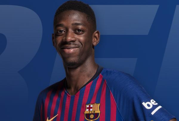 Dembelé pretende continuar no clube catalão.