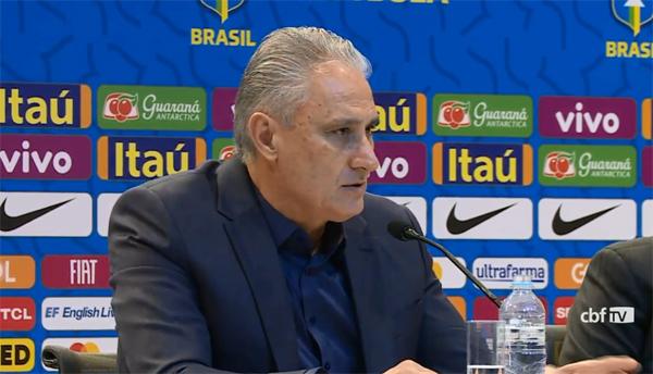 Jogos serão contra a Colômbia e o Peru. Foto: Reprodução/CBF TV
