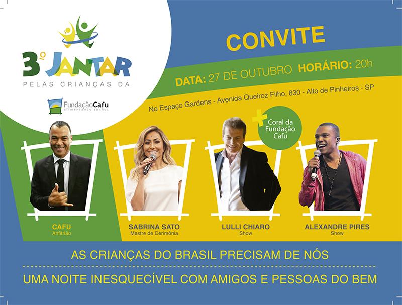 Sabrina Sato apresenta a 3ª edição do evento que acontece no dia 27 de outubro em São Paulo