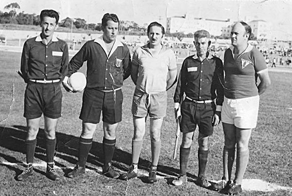 Fiori Gigliotti (ao centro) participou de eventos na cidade do interior paulista. Foto: Reprodução/Facebook