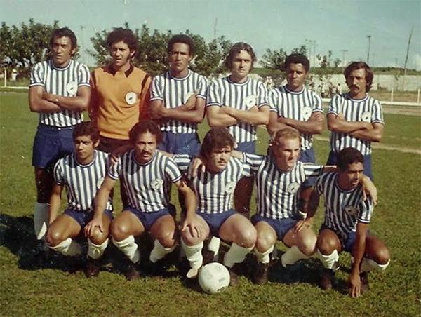 O Garça FC de 1972. Título e histórias que ficam para sempre. Foto: Reprodução/Blog do Marcão