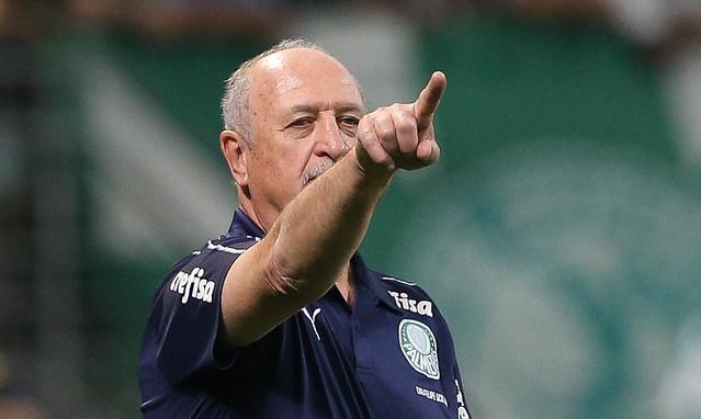 Felipão foi campeão da América com os dois clubes. Foto: Flickr/Palmeiras