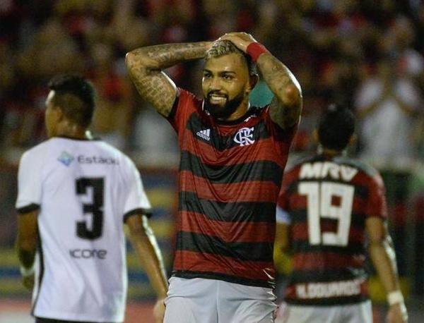 Gabigol é o artilheiro do Flamengo na temporada, com 24 gols em 34 jogos. Foto: Alexandre Vidal/Flamengo
