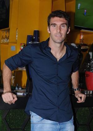 Boselli tem um bar esportivo em León, onde recebe atletas e torcedores. Foto: Reprodução/Instagram/Via UOL