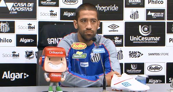 Evandro atuou nas três últimas partidas do time no Brasileirão. Foto: Reprodução/Youtube