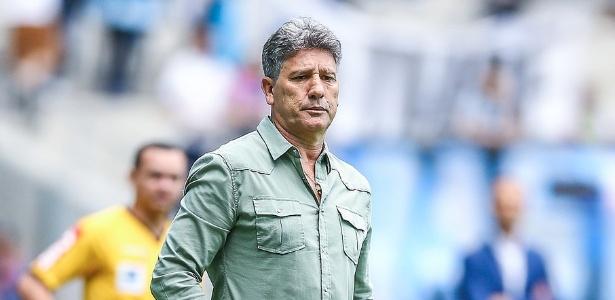Renato Gaúcho passou por cirurgia no coração neste sábado em Porto Alegre. Foto: Lucas Uebel/Grêmio/Via UOL