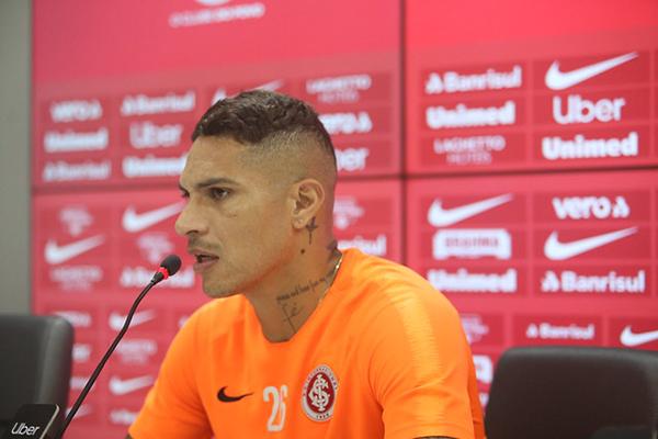 Guerrero fica fora de lista do Peru e reforça Internacional na Copa do Brasil