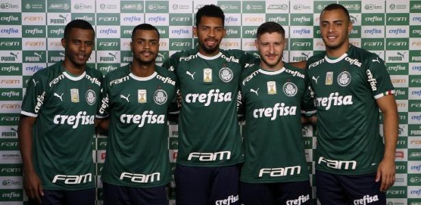 Reforços do Palmeiras já foram apresentados com o novo uniforme da Puma