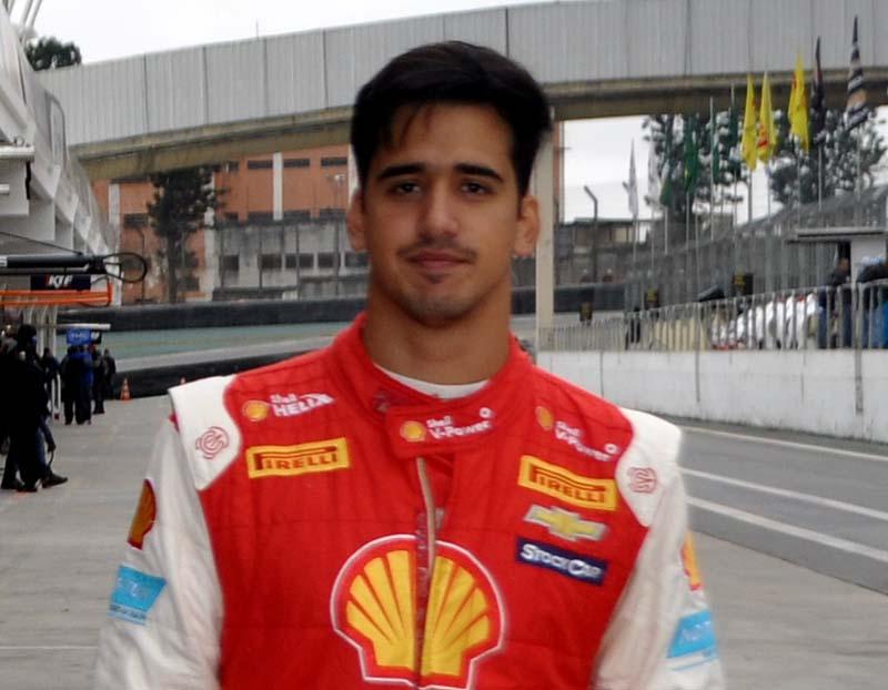 O jovem, que havia sido o mais rápido na sexta-feira, foi ainda mais rápido. Foto: Marcos Júnior Micheletti/Portal TT