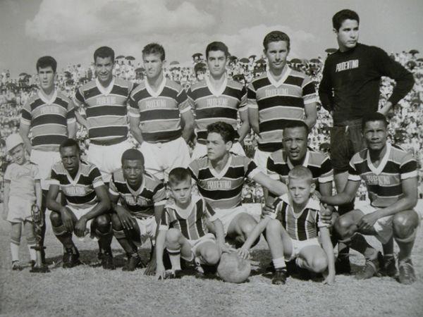 Goleiro disputou o Paulista de 61 com a camisa da Prudentina. Foto enviada por Celso Paiane