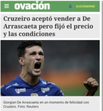 Entre outras exigências, o Cruzeiro quer deixar empresários fora da negociação