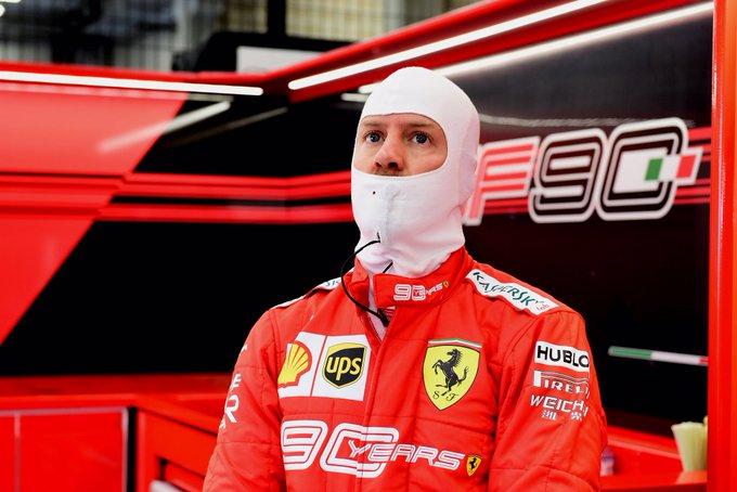 Alemão foi o mais veloz em Spa-Francorchamps. Foto: Scuderia Ferrari