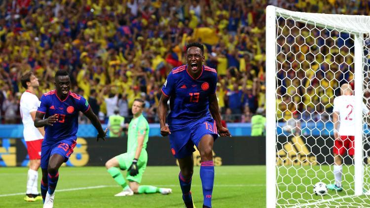 A Colômbia soma três pontos e ainda tem chance de disputar as oitavas de final