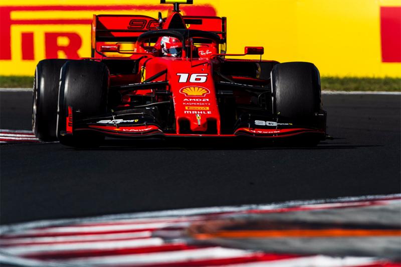 Monegasco liderou com boa margem para Vettel, o segundo colocado. Foto: Scuderia Ferrari