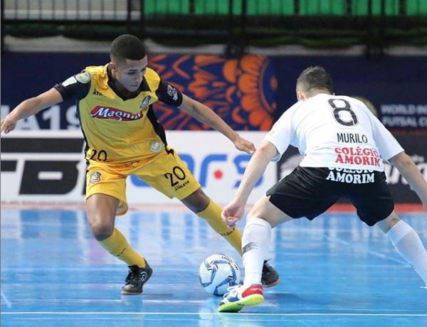 O time de Sorocaba vai enfrentar o Boca Juniors, na final do Intercontinental de Futsal