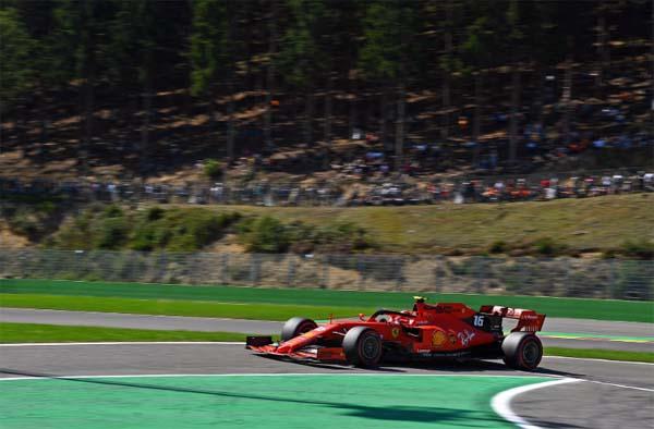 Monegasco foi soberano na classificação para o GP da Bélgica. Foto: Scuderia Ferrari