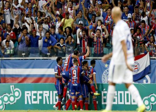 As duas equipes se enfrentaram pela 17ª rodada do Brasileiro. (Foto: Bahia)