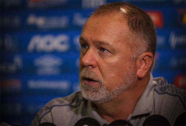 Treinador gaúcho foi oficializado pela diretoria esmeraldina. Foto: Cruzeiro Esporte Clube