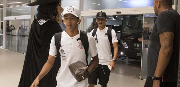 Meia Fessin foi relacionado para oito partidas do Corinthians no último Brasileirão. Foto: Daniel Augusto Jr/Ag.Corinthians