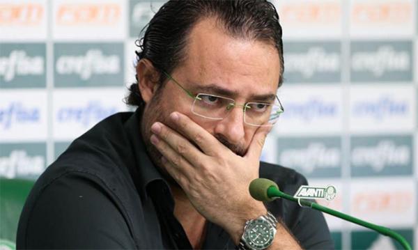 Alexandre Mattos, diretor de futebol do Palmeiras. Foto: César Greco/Palmeiras