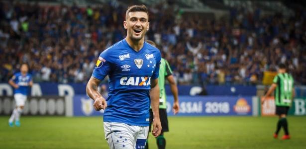 Arrascaeta, a maior contratação da história do futebol brasileiro. Foto: Vinnicius Silva/Cruzeiro E.C/Via UOL
