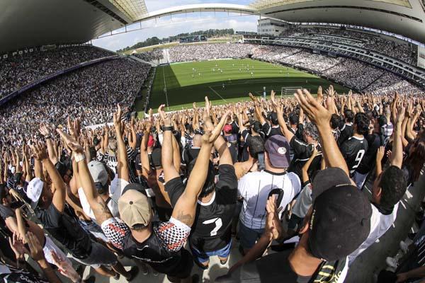 Equipe alvinegra ocupa a terceira colocação no Brasileirão. Foto: Bruno Teixeira/site oficial do Corinthians