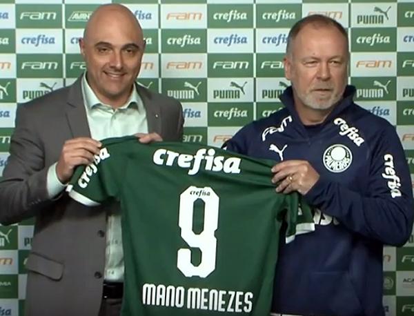 Mano garantiu que já estará no banco de reservas na partida contra o Goiás. Foto: Reprodução