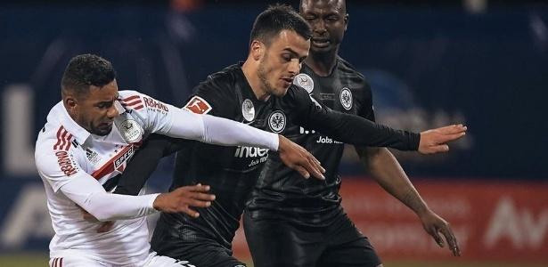 Equipe tricolor perdeu para o Eintracht Frankfurt. Foto; Divulgação
