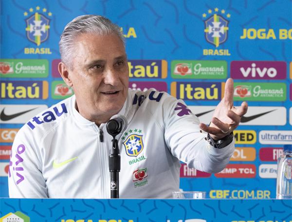 Brasil e Colômbia se enfrentam amanhã, em Miami. Foto: Lucas Figueiredo/CBF