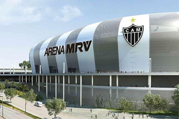 Estádio do Atlético será construído no Bairro Califórnia. Foto: Divulgação