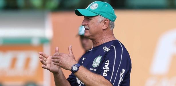 Felipão reclamou do calendário em sua primeira entrevista do ano. Foto: Cesar Greco/Ag. Palmeiras/Divulgação
