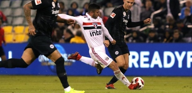 Garoto de 20 anos está na segunda temporada como profissional do Tricolor. Foto: Rubens Chiri/saopaulofc.net