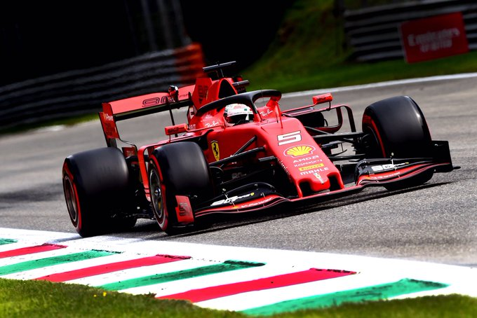 Alemão registrou a melhor marca do fim de semana. Foto: Scuderia Ferrari