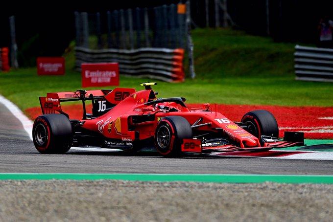 Monegasco confirmou o favoritismo para começar o GP da Itália na frente. Foto: Scuderia Ferrari