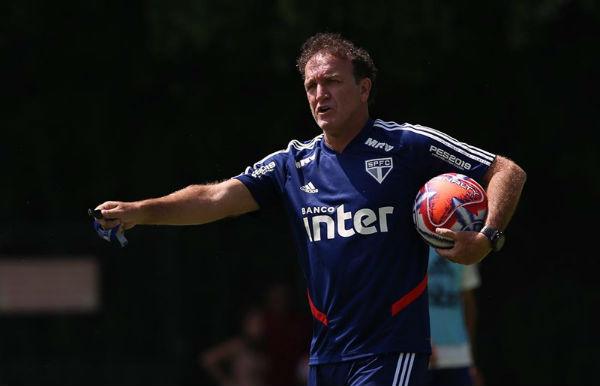 SPFC, de Cuca, não conseguiu superar o Internacional. Foto: Rubens Chiri/saopaulofc.net