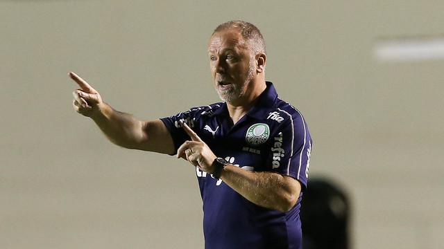 Mano Menezes estreou no jogo contra o Goiás. Foto: Flickr/Palmeiras