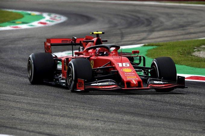 Monegasco resistiu com categoria à pressão de Hamilton e Bottas. Foto: Scuderia Ferrari