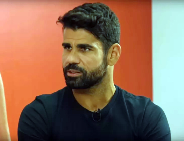 O atacante falou também sobre a possibilidade de defender o Flamengo no futuro. Foto: Reprodução