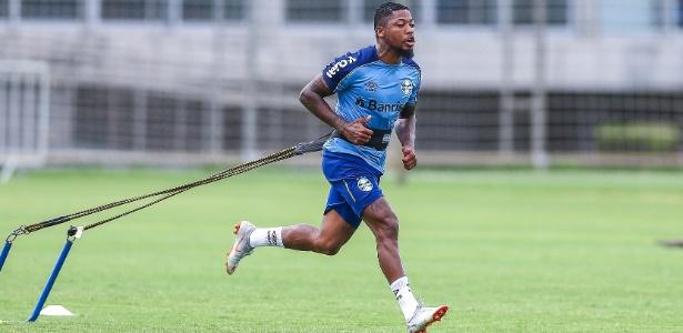 Polêmica envolveu gravação em que o atleta se ofereceu ao Flamengo. Foto: Lucas Uebel/Grêmio