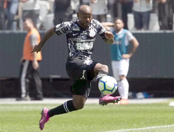 O atacante comentou também o fato de o Corinthians seguir invicto após a Copa América. Foto: Daniel Augusto Jr./Agência Corinthians