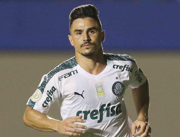 Willian jogou no Cruzeiro entre 2013 e 2016. Foto: Cesar Greco/Agência Palmeiras