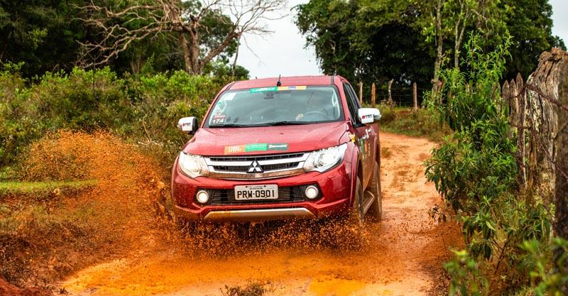 Competidores enfrentarão terrenos da região no próximo sábado (14). Foto: Ricardo Leizer/Mitsubishi